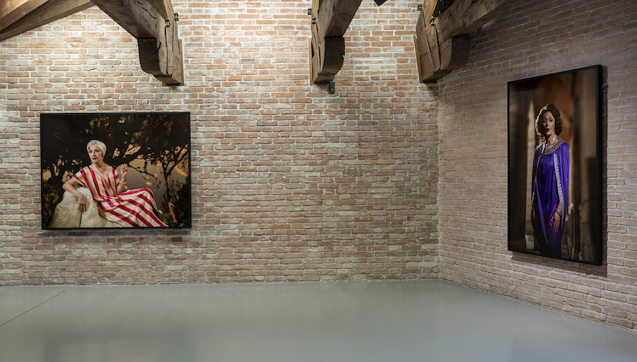 Urs Fischer - Dancing with myself -  Installation view at Punta della Dogana, 2018 © Palazzo Grassi, photography by Matteo De Fina