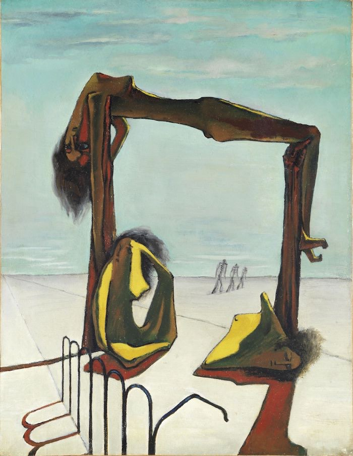 Ramses Younane, Untitled, 1939, Courtesy H. E. Sh. Hassan M. A. Al Thani collection, Doha © Ramses Younane