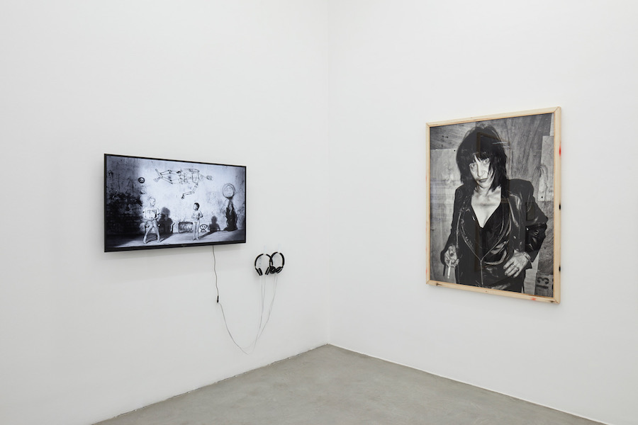 Is it my body?, 2018, curated by Antonio Grulli, exhibition views at Francesca Minini, Milan. Photo by Agostino Osio