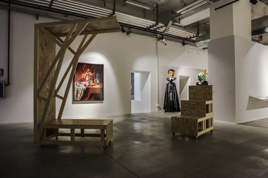 The Szechwan Tale. China, Theatre and History - Installation view  © FM Centro per l'Arte Contemporanea - Photo Alessandra Di Consoli