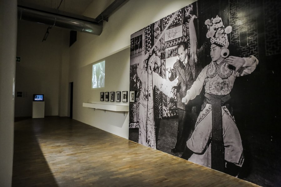 The Szechwan Tale. China, Theatre and History, Theatre and History - Installation view  © FM Centro per l'Arte Contemporanea - Photo Alessandra Di Consoli