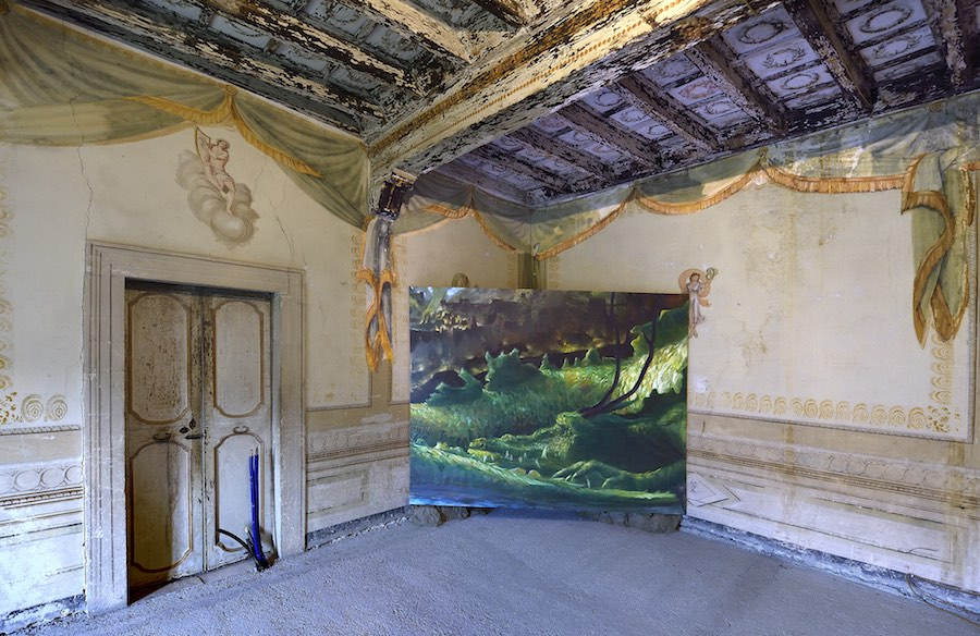 Thomas Braida, exhibition view, Straperetana 2018, ph. Gino Di Paolo