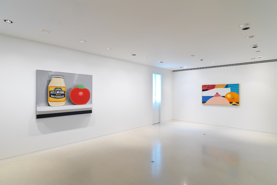 Tom Wesselmann,  La Promesse Du Bonheur -Installation view -  Photo NMNM / Jeffrey Sturges, 2018 © The Estate of Tom Weeslmann / Licensed by VAGA, New York