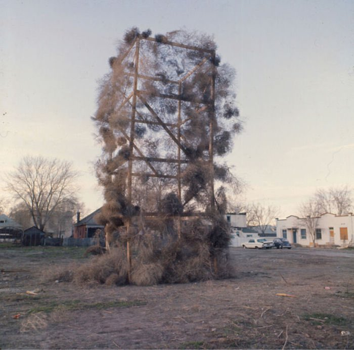 Gianni Pettena, TUMBLEWEEDS CATCHER, I Edizione, Salt Lake City, Utah (USA), 1972, Courtesy l'artista