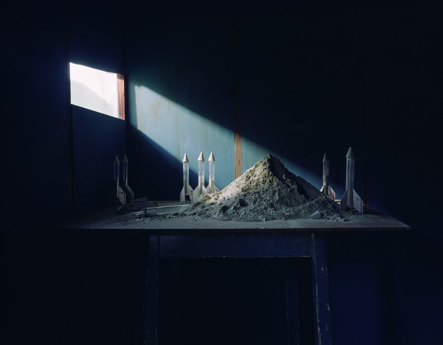 Annabel Elgar, Moon dust stockpile, New Forest, England. 2014