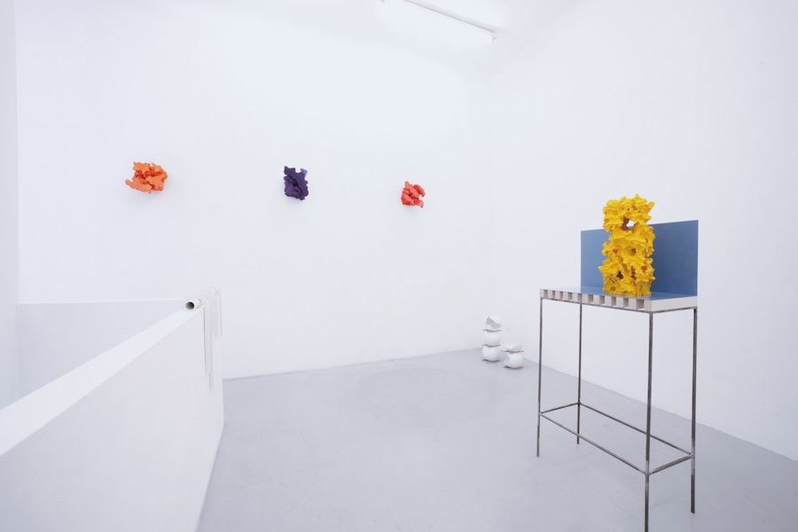 Florian Roithmayr, these here withins, installation view, 2018 - Installation view - Renata Fabbri Arte Contemporanea, Milano