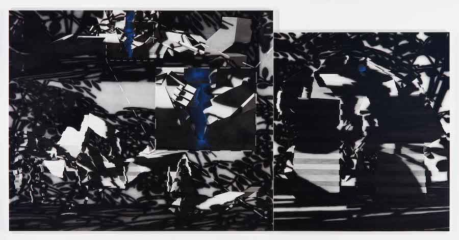Avery K Singer Untitled, 2016 acrilico su tela / acrylic on canvas 254 x 507 x 5 cm Courtesy: Collezione privata / Private collection, New York