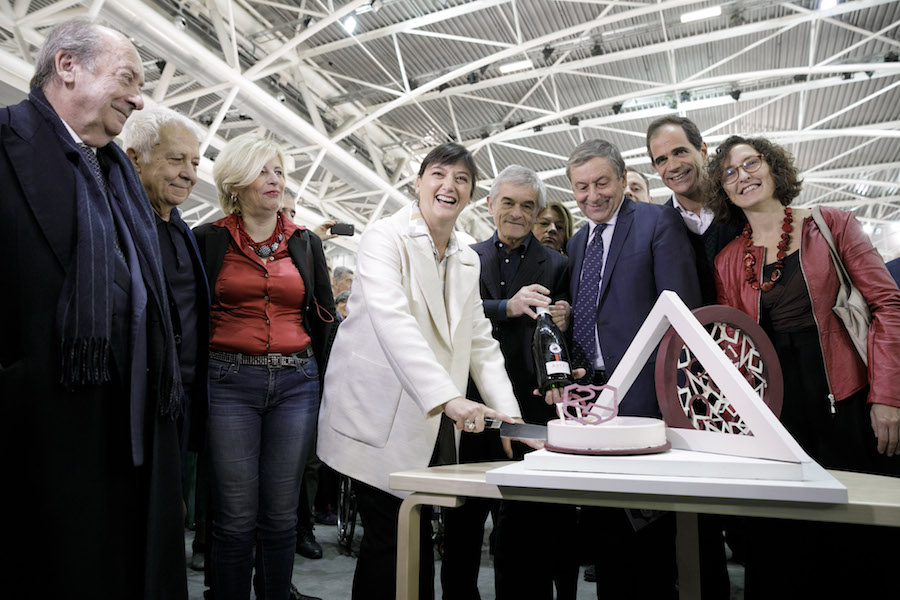 Maurizio Cibrario, Fulvio Gianaria, Antonella Parigi, Ilaria Bonacossa, Sergio Chiamparino, Carla Mainoldi, Francesco Profumo, Vincenzo Ilotte, Francesca Leon | Photo: Perottino – Piva - Bottallo