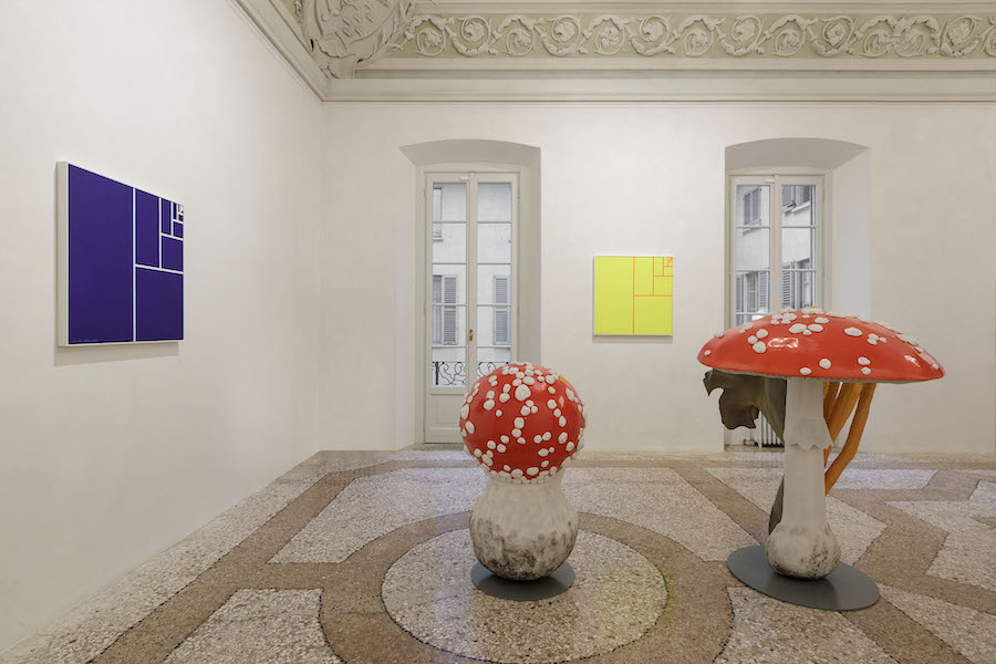 Carsten Höller - Mushroom Mathematics - Installation views Massimo De Carlo, Milan-Belgioioso, 2018 - Photo by Roberto Marossi - Courtesy Massimo De Carlo, Milan/London/Hong Kong