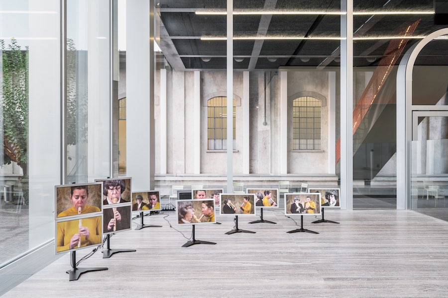 "Exhibition view of ""Sanguine: Luc Tuymans on Baroque"" A project by Luc Tuymans Photo Delfino Sisto Legnani and Marco Cappelletti 18 October 2018 – 25 February 2019 Fondazione Prada Courtesy Fondazione Prada"