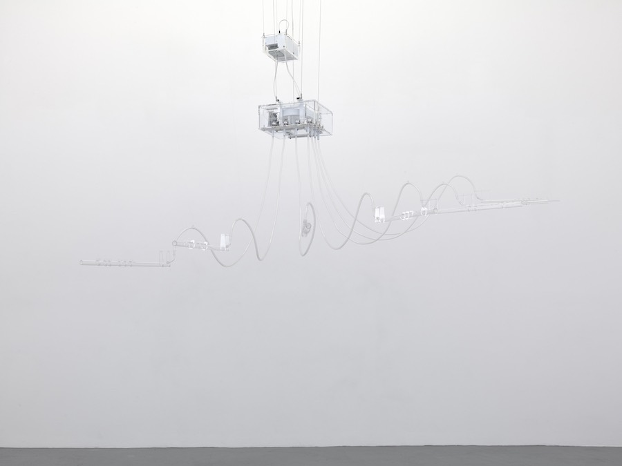 Cerith Wyn Evans Composition of 7 flutes, 2015 © Cerith Wyn Evans, courtesy White Cube Photo: Todd-White Art Photography