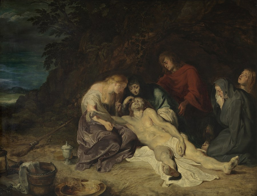 Peter Paul Rubens The lamentation over the dead Christ with St. John and the Holy Women, 1614 olio su tavola, 73 x 55 cm Royal Museum of Fine Arts Antwerp © www.lukasweb.be - Art in Flanders vzw, photo Hugo Maertens