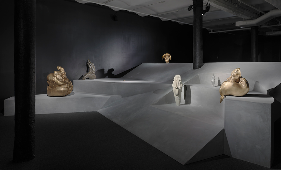 "Marguerite Humeau, Birth Canal"" Installation view, New Museum, NY"