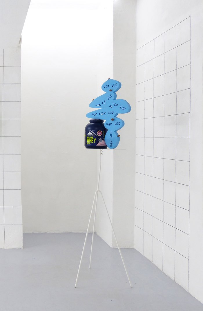 Nicola Gobbetto, All you can eat, 2017, vista della mostra a Dimora Artica, Milano, Courtesy Dimora Artica, Milano e Galleria Fonti, Napoli