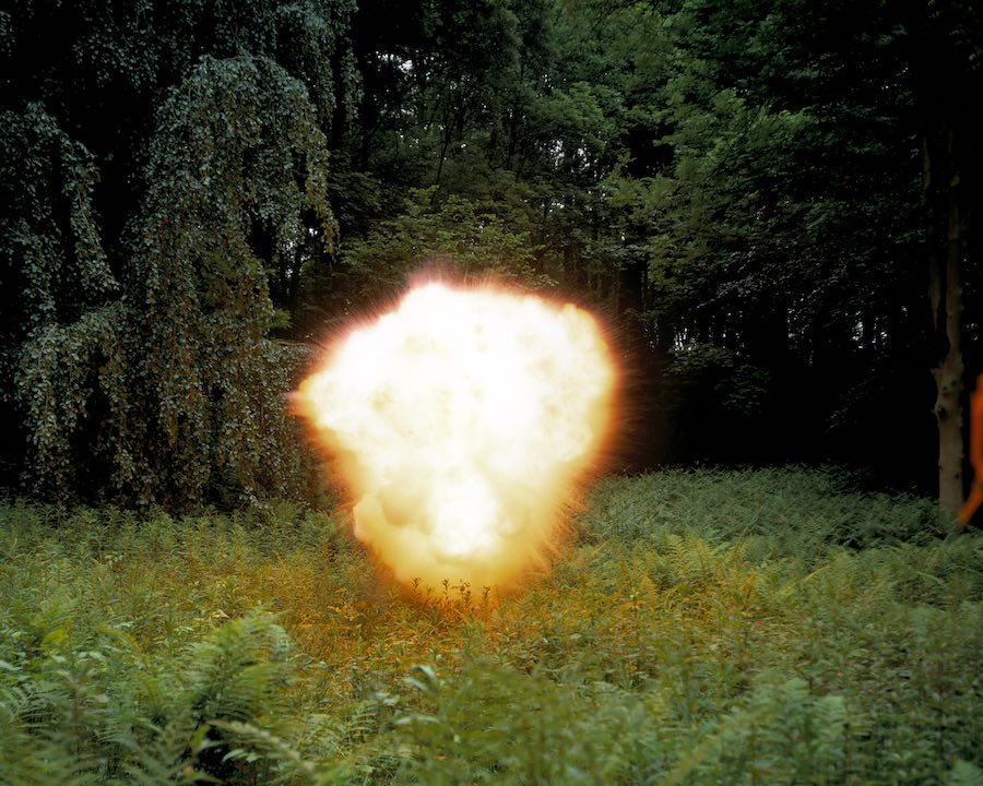 Geert Goiris, Blast #1 (2001) Framed archival pigment print 100 x 123 cm. Photo Courtesy Geert Goiris