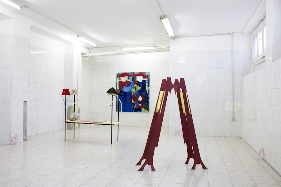 Day in, Day out, installation view, courtesy Tile project space