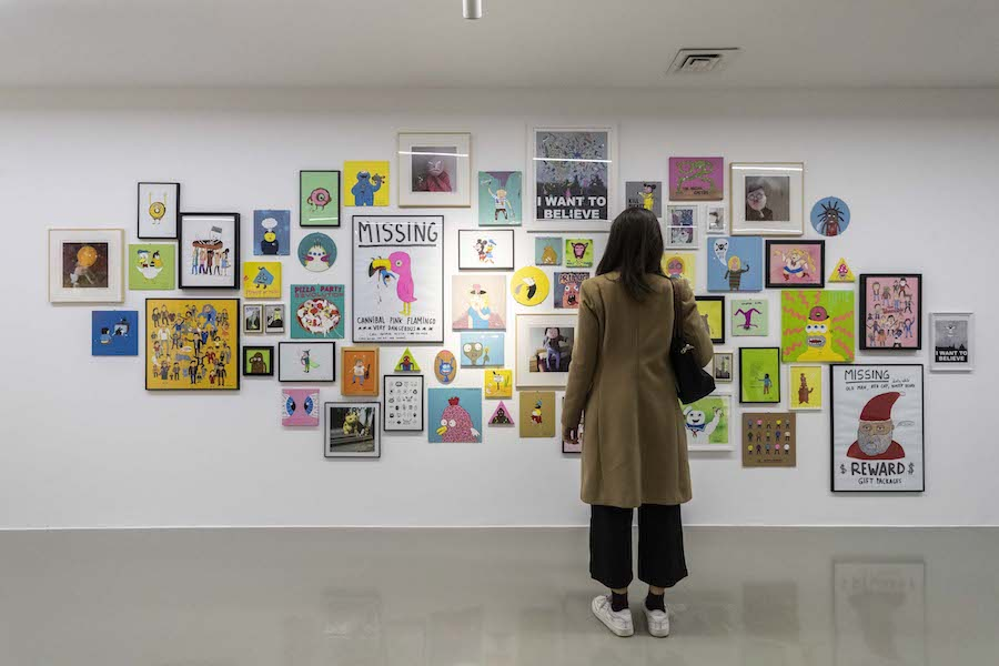 Laurina Paperina - Ex Libri - Installation view - PH Mart, Jacopo Salvi