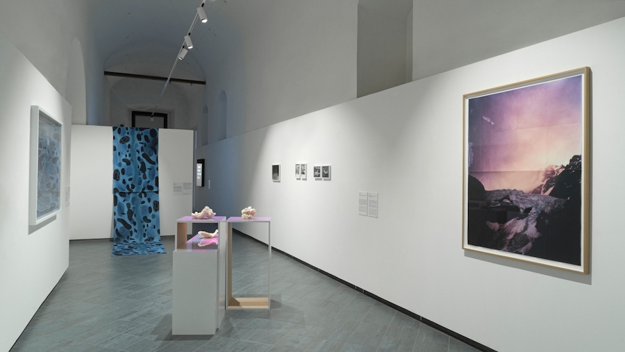 Post-Water. Exhibition view at Museo Nazionale della Montagna, 2018 @Museo Nazionale della Montagna CAI Torino