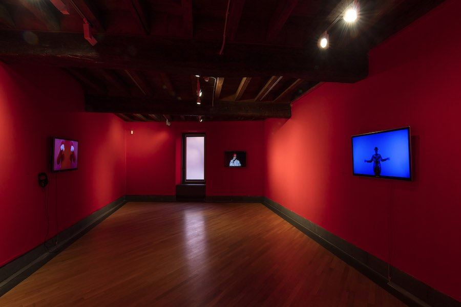 Jacopo Miliani - INstallation view at GAMeC, Bergamo - Ph. A. Maniscalco