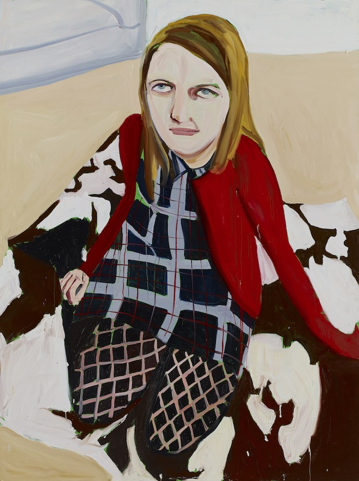 Chantal Joffe Bumptious Mansions, 2014 oil on canvas 243,8 x 183,5 cm © the artist Ph. Dario Lasagni