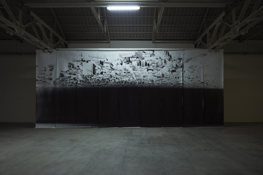 Giorgio Andreotta Calò Città di Milano, 2019 Installation view at Pirelli HangarBicocca, Milan, 2019. Commissioned and produced by Pirelli HangarBicocca. Courtesy of the artist and Pirelli HangarBicocca. Photo: Agostino Osio