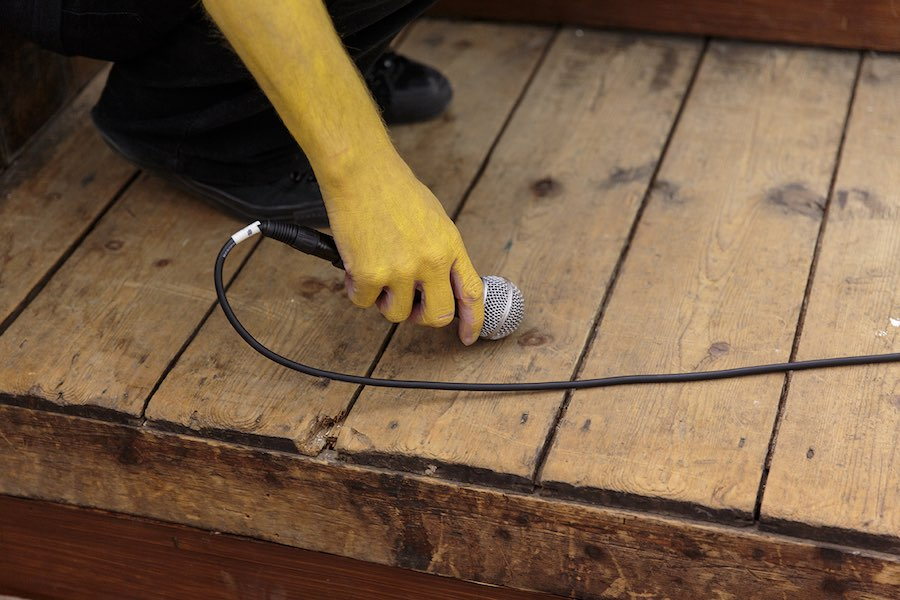Filippo Marzocchi Fabric - 8 Channel Soundscape, particolare, sound performance, Zabludowicz Collection, London, 2016