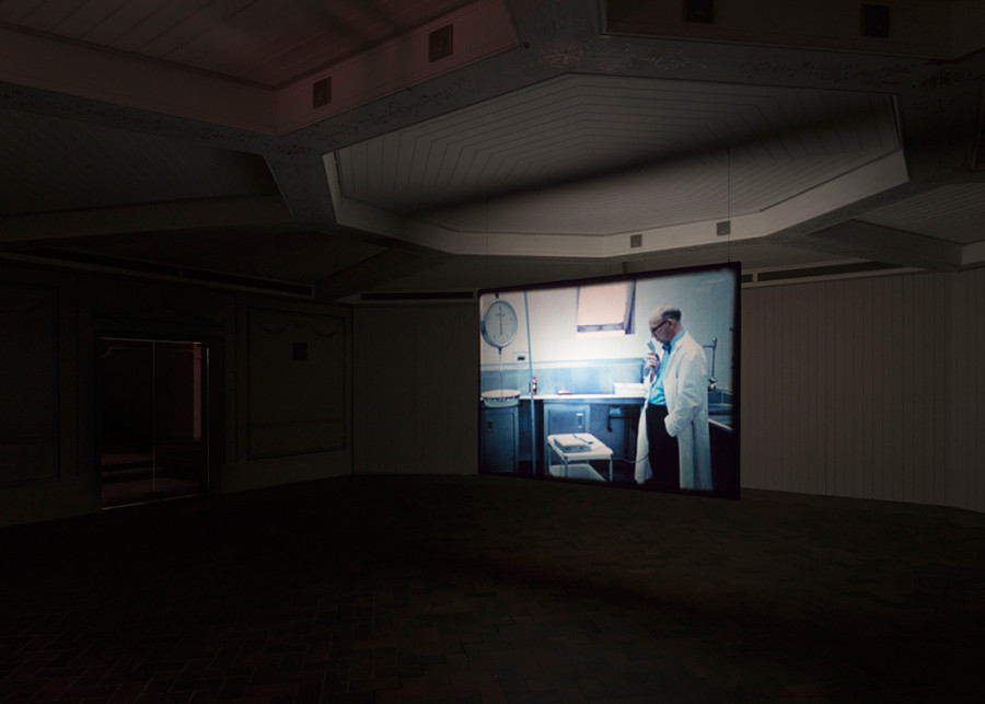 The Act of Seeing With One's Own Eyes - Stan Brakhage & David Kamp, curated by Ed Atkins - Installation view at Schinkel Pavillon 2019