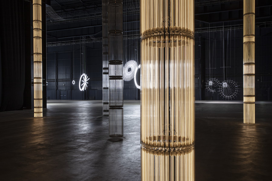 "Cerith Wyn Evans ""....the Illuminating Gas"""