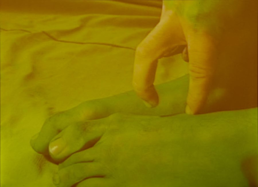 Contact Tracing: an online exhibition featuring artists' experimentations on the touching and proximity of bodies