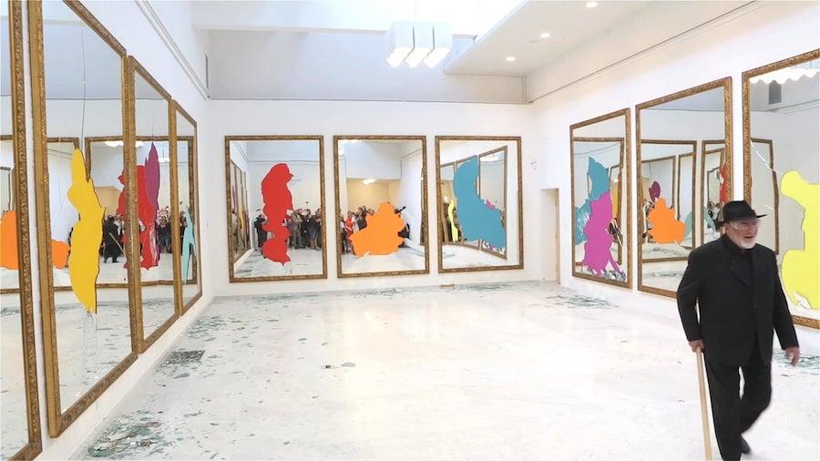 Michelangelo Pistoletto, Thirteen Less One,  Museo nazionale delle belle arti dell'Avana